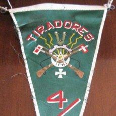 Banderines de colección: ANTIGUO BANDERIN TIRADORES IFNI - SAHARA - MIDE 28 CMS APROX.. - TAL Y COMO SE VE EN LA FOTOGRAFIA.. Lote 38263030