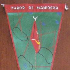 Banderines de colección: ANTIGUO BANDERIN TABOR DE MANIOBRA - 1ª COMPAÑIA IFNI - SAHARA - MIDE 35 CMS APROX.. - TAL Y COMO S. Lote 38263107