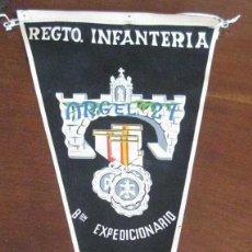 Banderines de colección: ANTIGUO BANDERIN REGIMIENTO INFANTERIA - BATALLON EXPEDICIONARIO - SIDI IFNI 1958- SAHARA - MIDE 35 . Lote 38263211