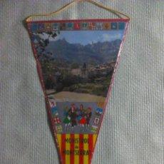 Banderines de colección: BANDERÍN DE MONISTROL DE MONTSERRAT. BARCELONA. CATALUÑA. ESPAÑA. AÑOS ´60-´70.. Lote 40454779