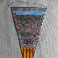 Banderines de colección: BANDERÍN DE RUPIT. BARCELONA. CATALUÑA. ESPAÑA. AÑOS ´60-´70. . Lote 40455006