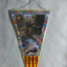 Banderines de colección: BANDERÍN DE SERCHS. BARCELONA. CATALUÑA. ESPAÑA. AÑOS ´60-´70. . Lote 40481067
