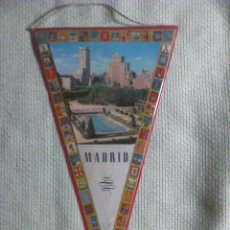 Banderines de colección: BANDERÍN DE MADRID. ESPAÑA. AÑOS ´60-´70. . Lote 40481116