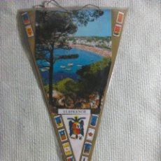 Banderines de colección: BANDERÍN DE LLAFRANCH. GERONA. CATALUÑA. ESPAÑA. AÑOS ´60-´70. . Lote 40481149
