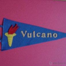 Banderines de colección: ANTIGUO BANDERÍN MILITAR: BUQUE MINADOR VULCANO (C. 1950) ¡AUTÉNTICO! ¡COLECCIONISTA!. Lote 40521636
