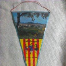 Banderines de colección: BANDERÍN DE PALAFRUGELL. GERONA. CATALUÑA. ESPAÑA. AÑOS ´60-´70. Lote 40566674