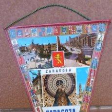 Banderines de colección: BANDERIN IMAGENES ZARAGOZA - AÑOS 60-70. Lote 40738430