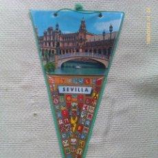 Banderines de colección: BANDERÍN DE PLAZA DE ESPAÑA DE SEVILLA. ANDALUCÍA. ESPAÑA. Lote 40926349