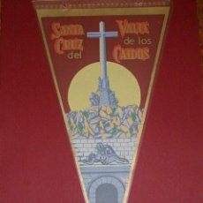 Banderines de colección: ANTIGUO BANDERIN SANTA CRUZ DEL VALLE DE LOS CAIDOS.. Lote 40935567