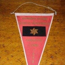 Banderines de colección: HERMANDAD NACIONAL DE ALFERECES PROVISIONALES GARAVITAS - 1958 -. Lote 40935720