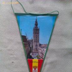 Banderines de colección: BANDERÍN DE LA GIRALDA DE SEVILLA. ANDALUCÍA. ESPAÑA. Lote 40972174
