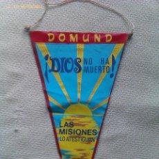 Banderines de colección: BANDERÍN DOMUND. ESPAÑA. AÑOS ´60-´70. Lote 40994965