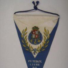 Banderines de colección: BANDERÍN-SOUVENIR. FUTEBOL CLUBE DO PORTO F.C.P. MIDE: 22 X 13,8 CMS.. Lote 41040030