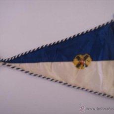Banderines de colección: BANDERÍN-SOUVENIR. DEL F.C.R. EN TELA. MIDE: 22,5 X 15,7 CMS.. Lote 41040066