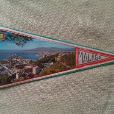 Banderines de colección: BANDERÍN DE MÁLAGA. ANDALUCÍA. ESPAÑA. Lote 41185162