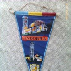 Banderines de colección: BANDERÍN DEL PRINCIPADO DE ANDORRA. Lote 41265940