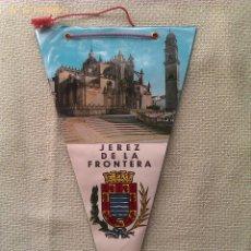 Banderines de colección: BANDERÍN DE JEREZ DE LA FRONTERA. CÁDIZ. ANDALUCÍA. ESPAÑA. Lote 41324567