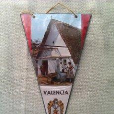 Banderines de colección: BANDERÍN DE VALENCIA. ESPAÑA. Lote 41341597