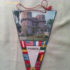 Banderines de colección: BANDERÍN DE VALENCIA. ESPAÑA. Lote 41341607