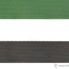Banderines de colección: 10 BANDERITAS SOBREMESA DE EXTREMADURA DE 15X10. Lote 41400405