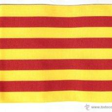 Banderines de colección: 10 BANDERITAS DE CATALUNYA DE 15X10. Lote 41501711
