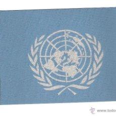 Fanions de collection: 12 BANDERITAS DE 15X10 DE LAS NACIONES UNIDAS. Lote 109352302