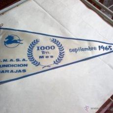 Banderines de colección: BANDERÍN PEGASO ENASA DE SEPTIEMBRE DEL AÑO 1965. Lote 42431585