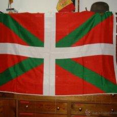 Banderines de colección: 2 BANDERAS DE EUSKADI DE 150X100 SIN CONFECCIONAR. GÉNERO ACRILICO 100%. Lote 42473724