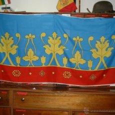 Banderines de colección: 5 FRANJAS PARA BANDERA DE VALENCIA DE 200X120 EN ACRÍLICO 100%. Lote 42474228
