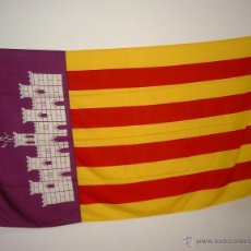 Banderines de colección: BANDERA DE LA CIUDAD DE MALLORCA DE 150X100 . Lote 42521123
