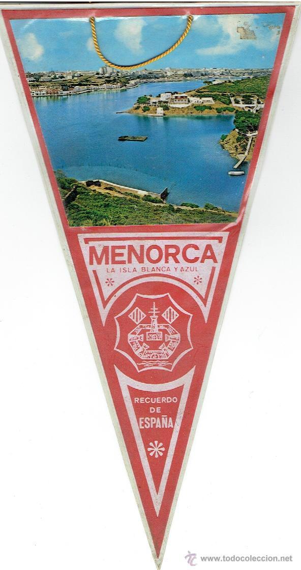 BANDERIN - MENORCA (Coleccionismo - Banderines)