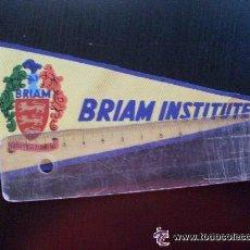 Banderines de colección: BANDERIN : BRIAM INSTITUTE . AÑOS 50 ... 8 X 18 CM.. Lote 42947756