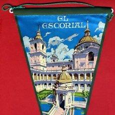 Banderines de colección: BANDERIN , PUBLICIDAD EL ESCORIAL MADRID , ORIGINAL ANTIGUO. Lote 42994615