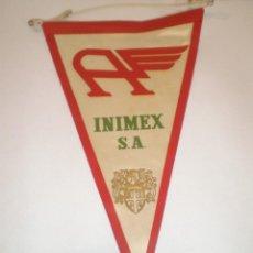 Banderines de colección: BANDERIN DE INIMEX - AÑOS 60. Lote 42998055