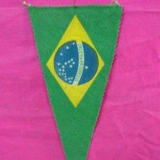 Banderines de colección: ANTIGUO BANDERIN DE BRASIL. Lote 43516804