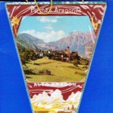 Banderines de colección: BANDERIN - TORLA / ORDESA - ALTO ARAGON / HESCA - PLASTICO - AÑOS 60 - RD1J. Lote 43925548