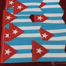 Banderines de colección: 10 BANDERINES DE CUBA . Lote 43955656