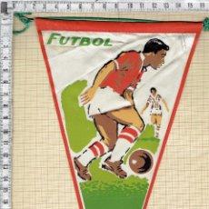 Banderines de colección: BANDERIN CON MOTIVO DEPORTIVO- FUTBOL... Lote 44091754