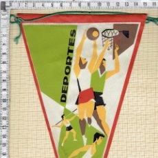 Banderines de colección: BANDERIN CON MOTIVO DEPORTES- VARIOS.. Lote 44091850