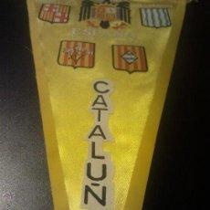 Banderines de colección: ANTIGUO BANDERIN CATALUÑA,CATALUNYA,BANDERA Y ESCUDO FRANQUISTA,FRANCO AGUILA ESCUDOS PROVINCIAS B. Lote 44606404