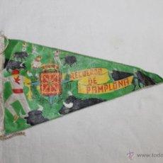Banderines de colección: BANDERÍN RECUERDO DE PAMPLONA - 26 CM.. Lote 45002446