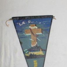 Banderines de colección: BANDERÍN LA PASSIÓ ESPARRAGUERA - JAUPE - 27.5 CM.. Lote 45002757