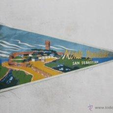 Banderines de colección: BANDERÍN DEL MONTE IGUELDO - SAN SEBASTIAN - 26.5 CM.. Lote 114284464