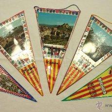 Banderines de colección: CINCO BANDERINES VARIADOS. Lote 45185688