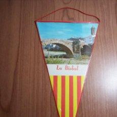 Banderines de colección: BANDERIN (LA BISBAL). Lote 45909240