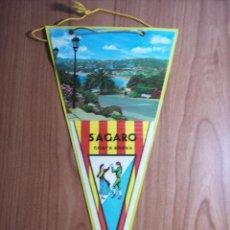 Banderines de colección: BANDERIN (S'AGARO). Lote 45909487