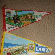 Banderines de colección: LOTE 3 BANDERINES SANTANDER Y OVIEDO. Lote 47676781