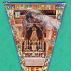 Banderines de colección: BANDERIN - VALENCIA - VIRGEN DE LOS DESAMPARADOS - PLASTICO - REVERSO SIN DIBUJO - AÑOS 60 / 70. Lote 47873231