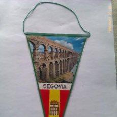 Banderines de colección: BANDERÍN DEL ACUEDUCTO DE SEGOVIA. CASTILLA Y LEÓN. ESPAÑA. AÑOS ´60-´70. Lote 48593353