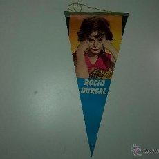 Banderines de colección: BANDERÍN CINE, ACTRIZ ROCÍO DURCAL, EDICIONES MANDOLINA 1964. Lote 48631429